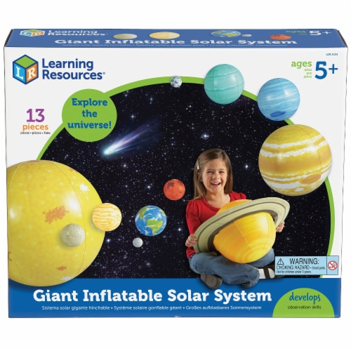 Learning Resources® Giant Inflatable Solar System Set Perspective: front