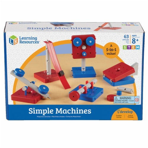 Learning Resources® Simple Machines Set Perspective: front