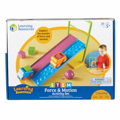 Learning Resources® Force and Motion Activity Set Perspective: front