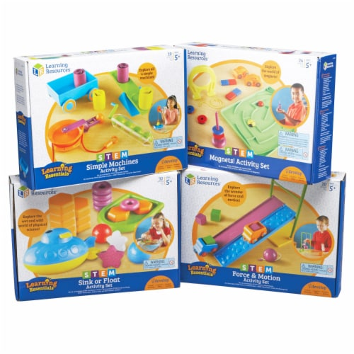 Learning Resources® STEM Classroom Bundle Perspective: front