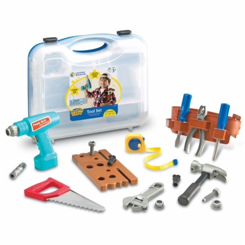 Learning Resources® Pretend & Play Tool Set Perspective: front