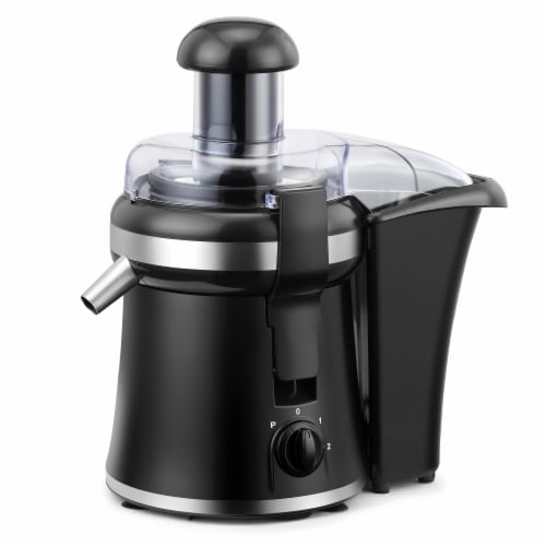 """Continental 2"""" Chute Juice Extractor 2-Speed with Pulse Perspective: front"""