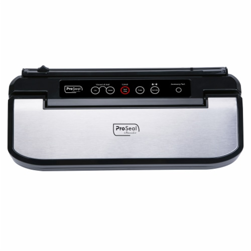 """ProSeal™ Vacuum Sealer, 11.8"""" Airtight Heat Seal, Dry & Moist Modes, Built-In Bag Cutter Perspective: front"""