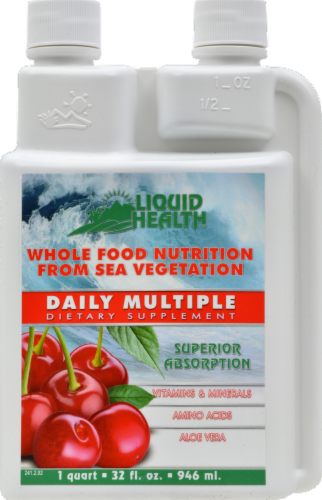 Liquid Health Daily Multiple Vitamins & Minerals Dietary Supplement Perspective: front