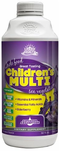 Liquid Health  Children's Multi Sugar Free Perspective: front