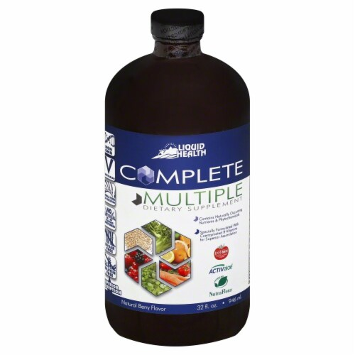 Liquid Health Complete Multiple Dietary Supplement Perspective: front