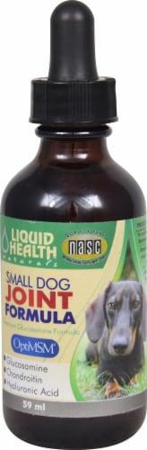 Liquid Health  Naturals Small Dog Joint Formula Perspective: front