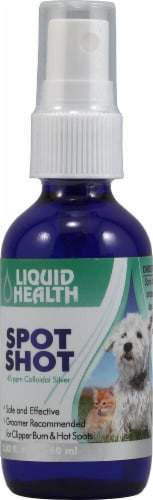 Liquid Health  Spot Shot Colloidal Silver Perspective: front