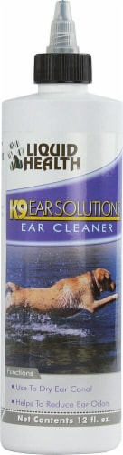 Liquid Health  Pets K-9 Ear Solutions Perspective: front