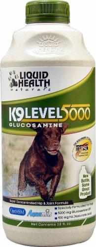 Liquid Health  Naturals K9 Level 5000 Glucosamine Perspective: front