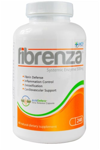 HCP Formulas  Fibrenza™ Systemic Enzyme Perspective: front