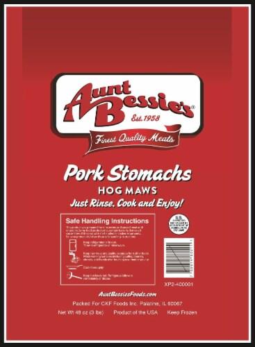 Aunt Bessie's Pork Stomachs Perspective: front