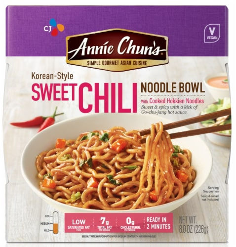 Annie Chun's Korean-Style Sweet Chili Noodle Bowl Perspective: front
