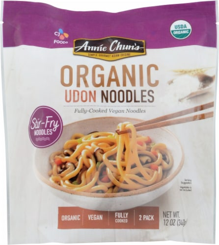 Annie Chun's Organic Vegan Udon Noodles Perspective: front