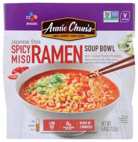 Annie Chun's Spicy Miso Ramen Perspective: front