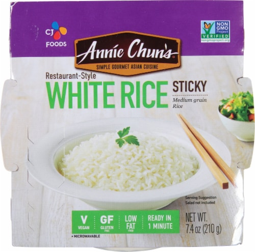 Annie Chun's White Sticky Rice Perspective: front