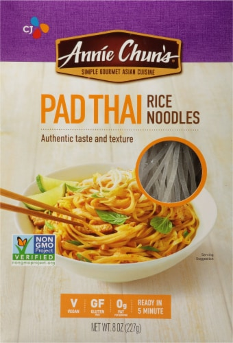 Annie Chun's Pad Thai Rice Noodles Perspective: front