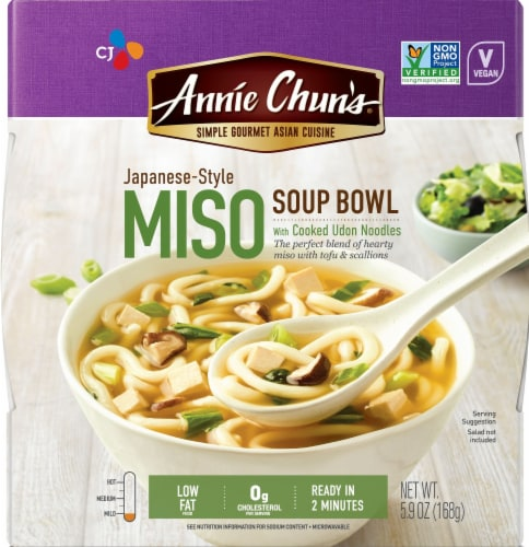 Annie Chun's Miso Soup Bowl Perspective: front