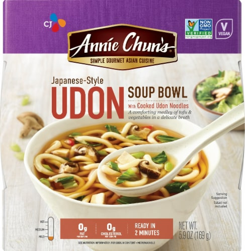 Annie Chun's Japanese-Style Udon Soup Bowl Perspective: front