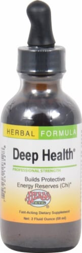 Herbs Etc.  Deep Health® Professional Strength Perspective: front