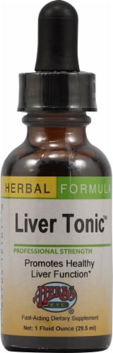Herbs Etc.  Liver Tonic™ Perspective: front