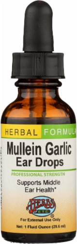 Herbs Etc. Mullein Garlic Ear Drops Perspective: front