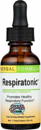 Herbs Etc. Herbal Formula Respiratonic Supplement Perspective: front
