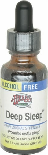 Herbs Etc.  Deep Sleep® Alcohol Free Perspective: front