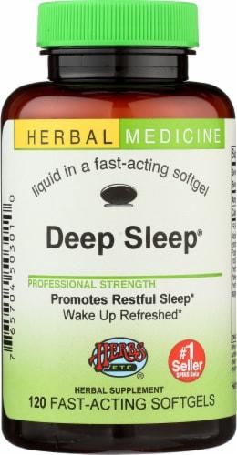 Herbs Etc. Deep Sleep Softgels Perspective: front