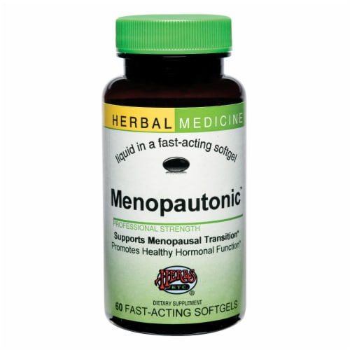 Herbs Etc. Menopautonic Support Softgels Perspective: front