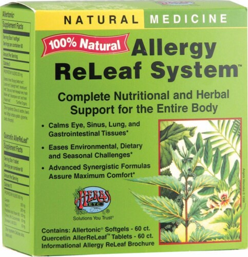 Herbs Etc.  Allergy ReLeaf® System Perspective: front