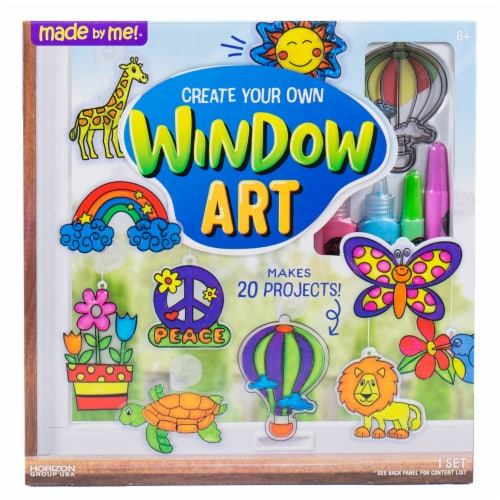 Horizon Group USA Made by Me! Window Art Kit Perspective: front