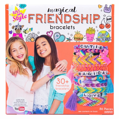 Just My Style Magical Friendship Bracelet Kit Perspective: front