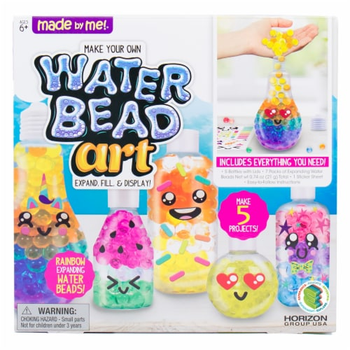 Made by Me Water Bead Art Kit Perspective: front