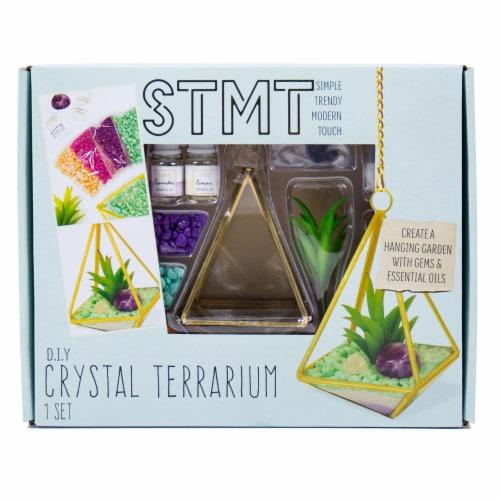 STMT D.I.Y. Crystal Healing Terrarium Perspective: front