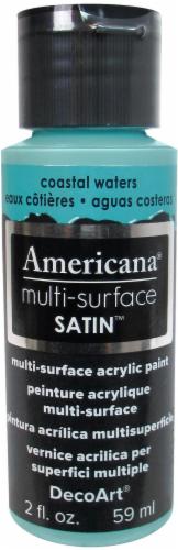 DecoArt Americana Multi-Surface Satin Acrylic Paint Perspective: front