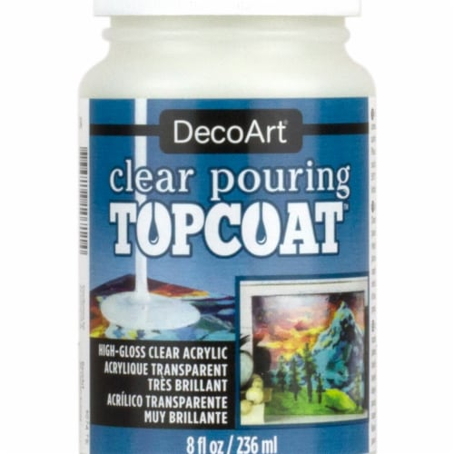 DecoArt Pouring Topcoat - Clear Perspective: front