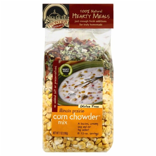 Frontier Soups Illinois Prairie Corn Chowder Mix Perspective: front