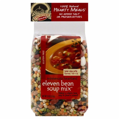 Frontier Soups Minnesota Heartland Eleven Bean Soup Mix Perspective: front