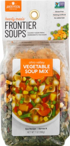 Frontier Soups Ohio Valley Vegetable Soup Mix Perspective: front