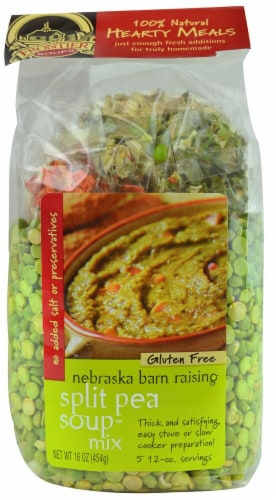 Frontier Soups  Hearty Meals™ Nebraska Barn Raising Split Pea Soup Mix™ Perspective: front