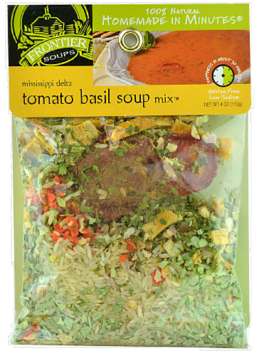 Frontier Soups Mississippi Delta Tomato Basil Soup Mix Perspective: front