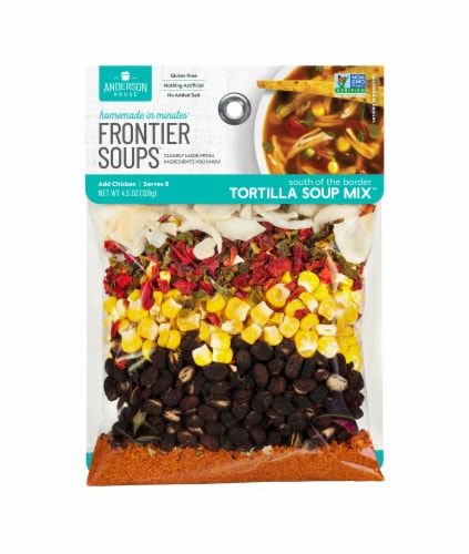 Frontier Soups Tortilla Soup Mix Perspective: front