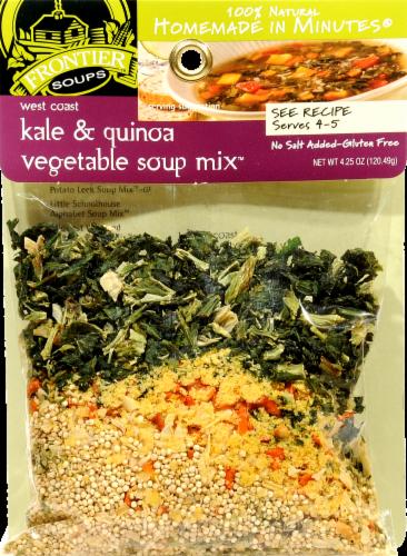 Frontier West Coast Kale Quinoa Vegetable Soup Mix Perspective: front