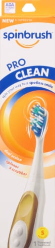 Arm & Hammer Spinbrush Pro Clean Soft Toothbrush Perspective: front