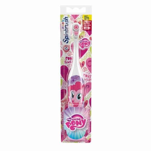 Arm & Hammer Kids' Spinbrush My Little Pony Toothbrush Perspective: front