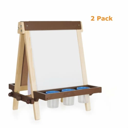 Wooden Tabletop Easel - Pack of 2 Perspective: front