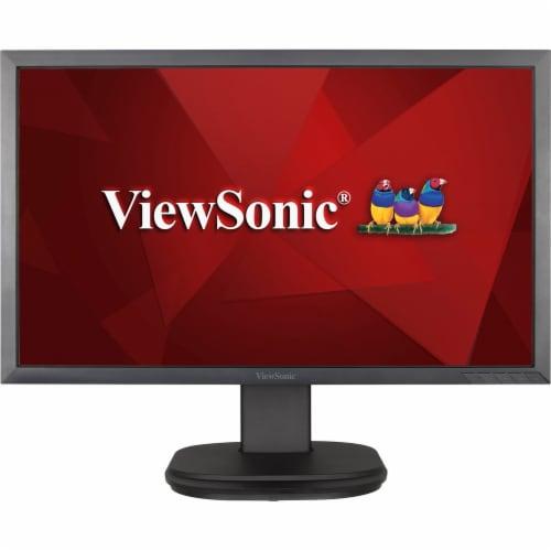 ViewSonic Ergonomic LED Monitor - Black Perspective: front