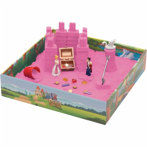 KwikSand Play Set - Princess Palace Perspective: front
