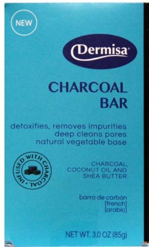 Dermisa Charcoal Bar Perspective: front